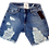 Thumbnail: Womens One Teaspoon Stevies Boyfriend Shorts (HFOT-22991)
