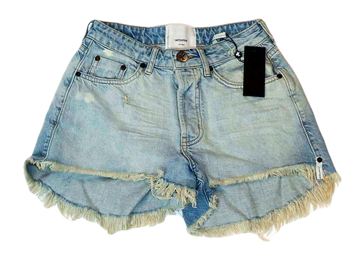 Womens One Teaspoon Trucker Shorts (HFOT-22981)