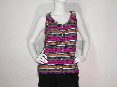 Kavu Womens Beryl Flow'n Sleeveless Button Blouse (ELAV-KA2040-704)