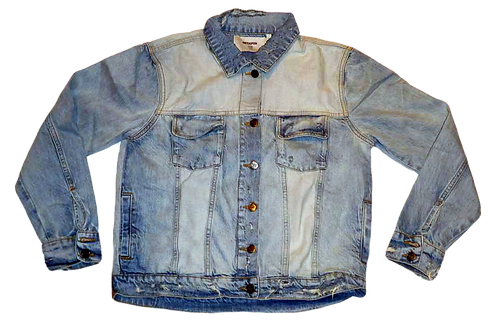 Womens One Teaspoon Kansas Denim Trucker Jacket (HFOT-23034)