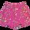 Thumbnail: Womens Generation Love Kelsey Floral Shorts (HFGL-SU20544)