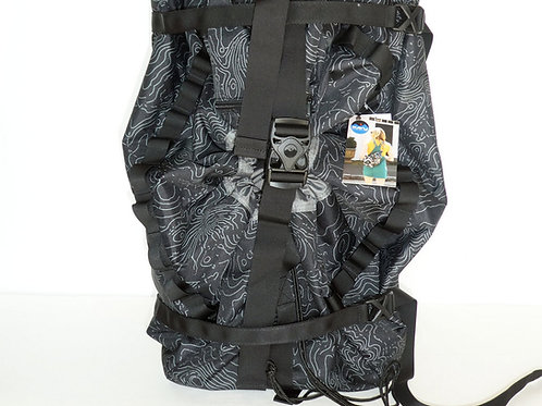 Kavu Womens Shapiro Black Topo Backpack (ELAV-9147-437)