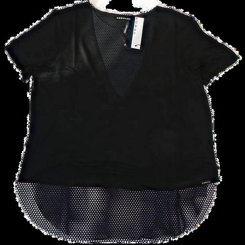 Womens Koral Double Layer Tencel Short Sleeve Tee (HFKOR-A6124J07)