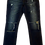 Thumbnail: Mens One Teaspoon Mr Blues Jeans,Stretch,Relaxed Rise,Skinny Leg(HFOT-19826AREG)