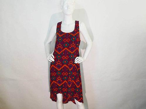 Kavu Womens Jocelyn Jewel Ikat Summer Dress (ELAV-KA6013-539)
