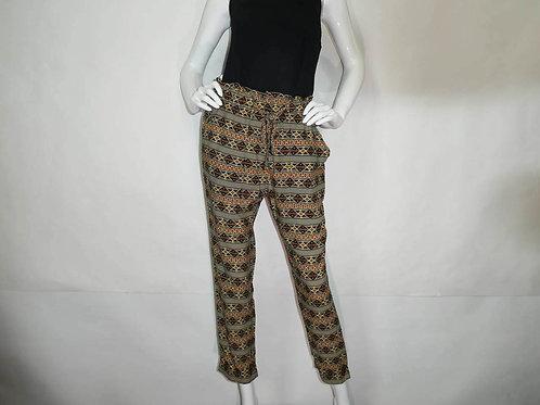 Kavu Womens Tiba Earth Inlay Slim Fit High Waist Pant (ELAV-KA6104-1235)