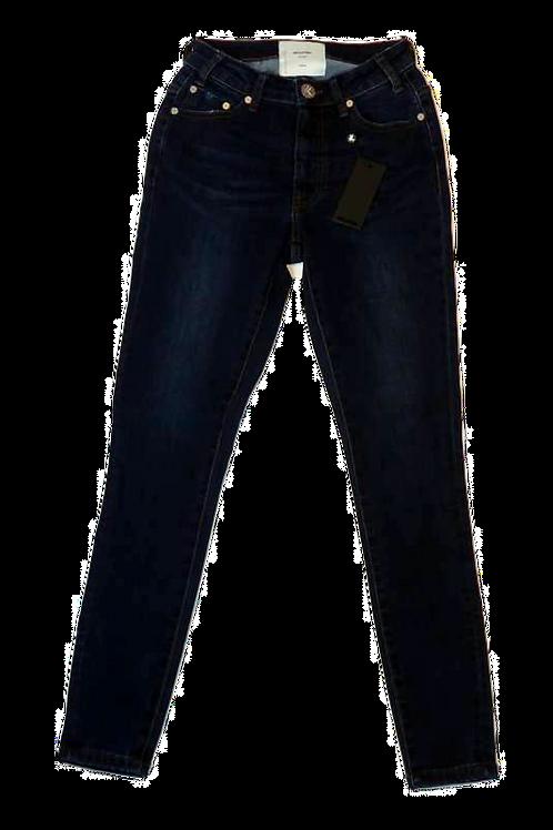 Womens One Teaspoon Freebirds II HW Stretch Fitted Leg Jean (HFOT-22166)