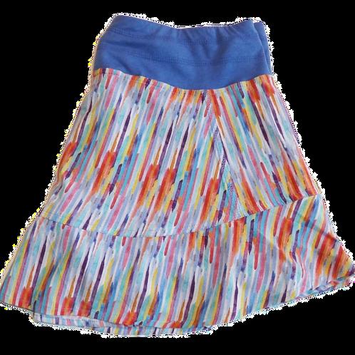 Tasc Performance Womens Rhythm Tennis Skirt Print (ELAV-TW425)