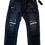 Thumbnail: Mens One Teaspoon Mr Browns Jeans,Rigid,Rlxed Leg,Tappered Ankle(HFOT-19829CREG)