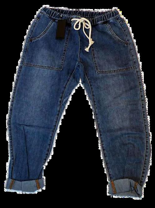 Womens One Teaspoon Shabbies Drawstring Jean (HFOT-22585)