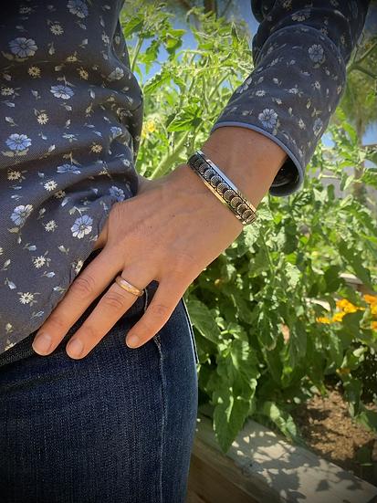 Sterling Silver Shell Bracelet