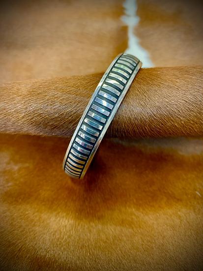 Sterling Silver Line Bracelet