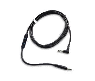 Bose Câble audio avec télécommandeet microphone intégrés QuietComfort 25