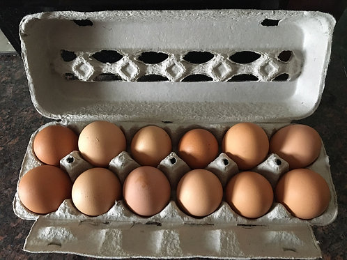 Farm Fresh - Free Range, Brown Eggs
