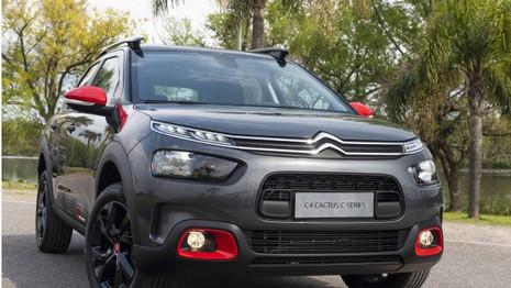 Le Citroën C4 Cactus reçoit la série spéciale C Series en Argentine