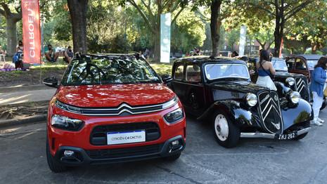 Cinquante Citroën réunies à Buenos Aires