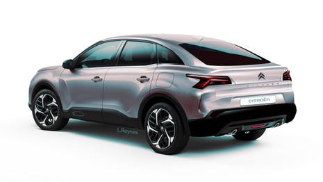 Future Citroën C43 : la C4 se fait la malle