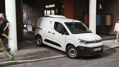 Citroën Berlingo Van électrique : les commandes ouvertes en France