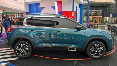 Citroën C5 Aircross : la gamme mise à jour en Chine