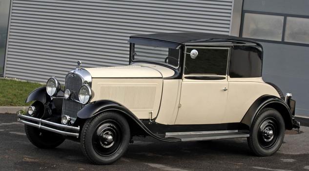Centenaire Citroën : La Citroën C6 (1928) - mise à jour
