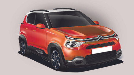 Future Citroën C3 : comme ça ?