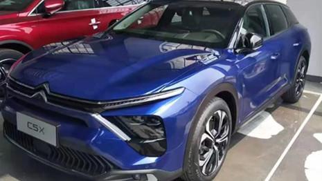 Citroën C5X : en route pour le salon de Shanghai