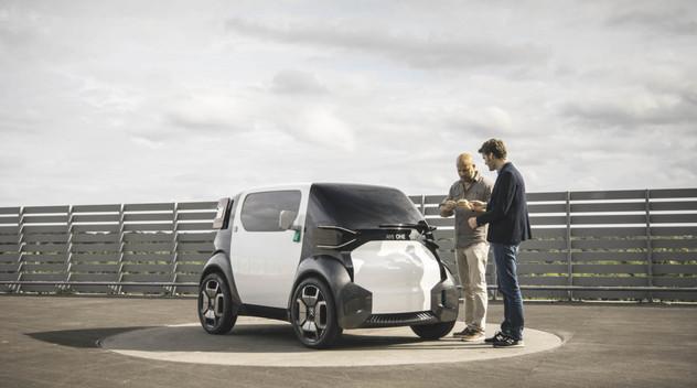 Citroën Ami One Concept : interview de Frédéric Duvernier