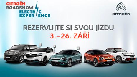 Citroën lance un Road Show électrique en Tchéquie