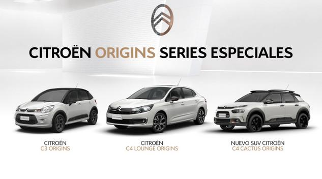 """Argentine : Citroën présente les C3, C4 et C4Lounge """"Origins"""""""