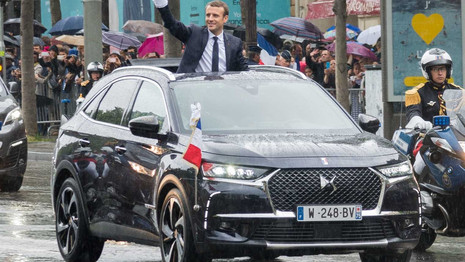 Un DS 7 Crossback pour le Président Macron