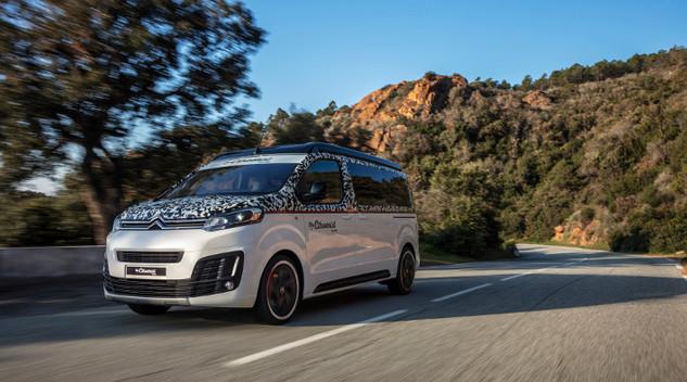 Citroën expose le Spacetourer The Citroënist au salon des véhicules de loisirs