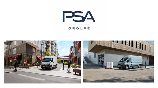 PSA présente les Citroën Jumper et Peugeot Boxer Électrique