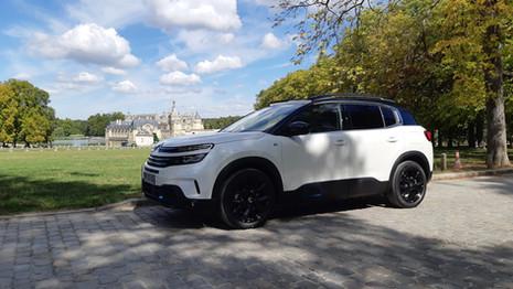 Le Citroën C5 Aircross meilleure vente d'hybrides en France
