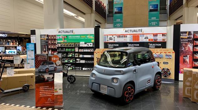 Une nouvelle récompense pour la Citroën AMI