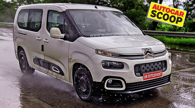 Le Citroën Berlingo surpris en test en Inde