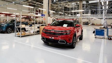 Citroën C5 Aircross : la production stoppée pendant une semaine