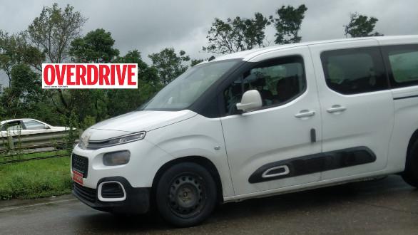 Le Citroën Berlingo de nouveau surpris en Inde