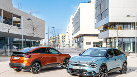 La nouvelle Citroën C4 lancée en Autriche