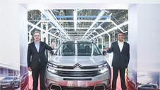 Citroën C5 Aircross : La production commence en Inde