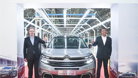Citroën C5 Aircross : La production commence en Inde