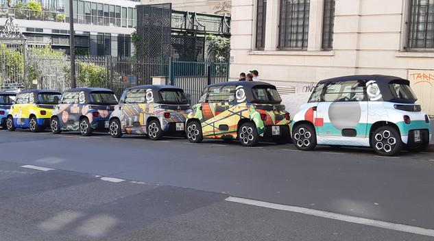 AMI aime Paris : Citroën présente 20 AMI unique pour chaque quartier de Paris