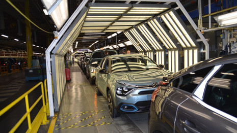 La production de la nouvelle Citroën C4 a repris