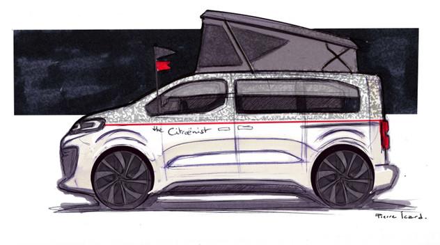 Citroën Spacetourer The Citroënist : le second concept de Citroën à Genève
