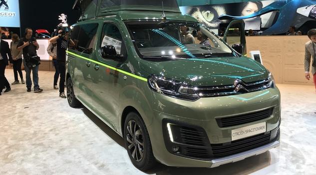 "Citroën Spacetourer Campster : un van ""Made in France"""