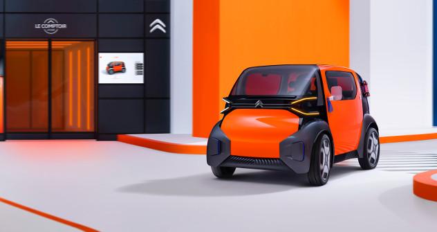 Chine : Au salon de Shanghai, Citroën dévoile Ami One concept