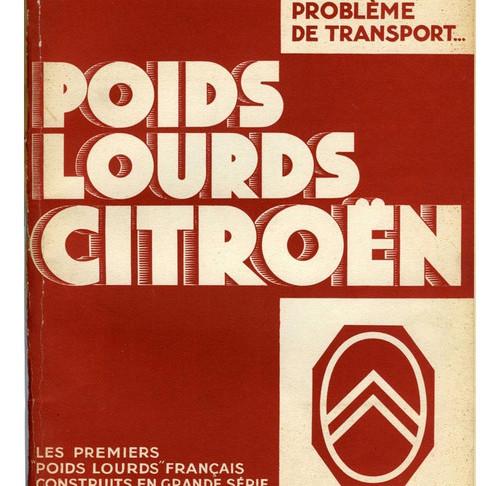 En 1929, Lancement du C6 1, premier camion rapide français. Charge utile: 1800 kg. Moteur 6 Cylindres. 42 ch. Cabine conduite intérieure tout acier.