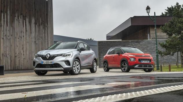 Comparatif SUV : Le Citroën C3 Aircross affronte le Renault Captur
