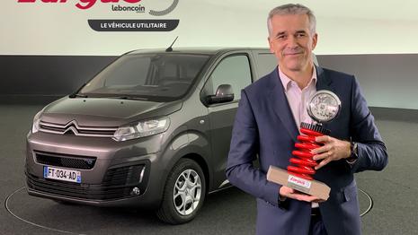 Le Citroën ë-Jumpy nommé utilitaire de l'année aux Trophées l'Argus 2021