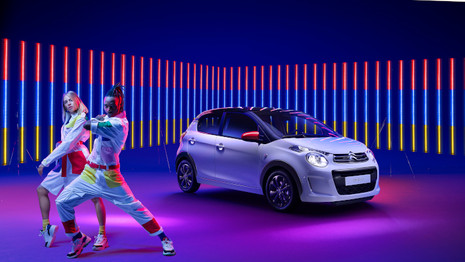 Citroën dévoile la C1 JCC+ par Jean-Charles de Castelbajac