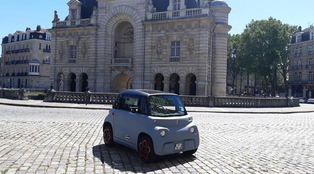 Citroën AMI en Road Trip à travers l'île de France - épisode 1